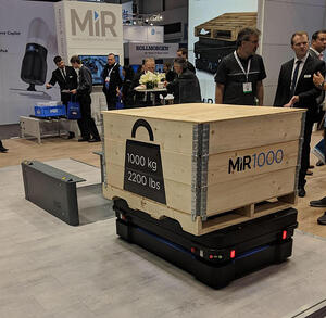 MiR1000 at Automate 2019