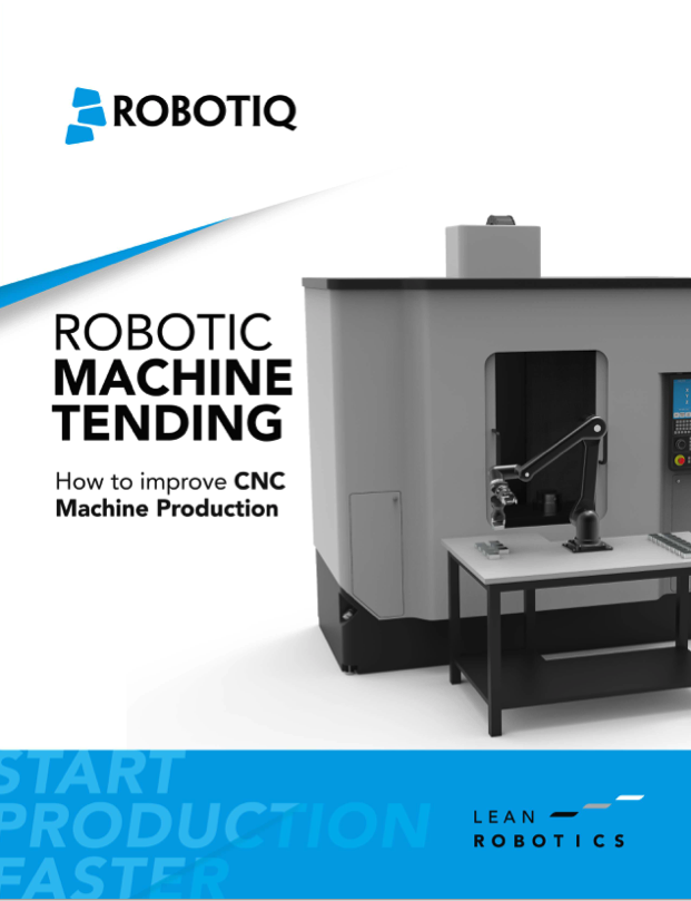Robotiq - Robotic Machine Tending - eBook cover